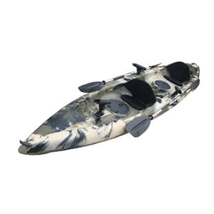 bkc tandem fishing kayak